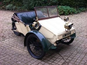 AC Sociable 2-Seater 1907 года