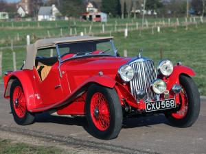 1937 AC Six 16/80 Competition Sports