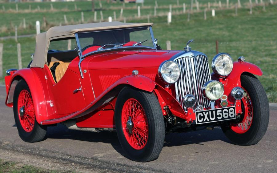 AC Six 16/80 Competition Sports '1937