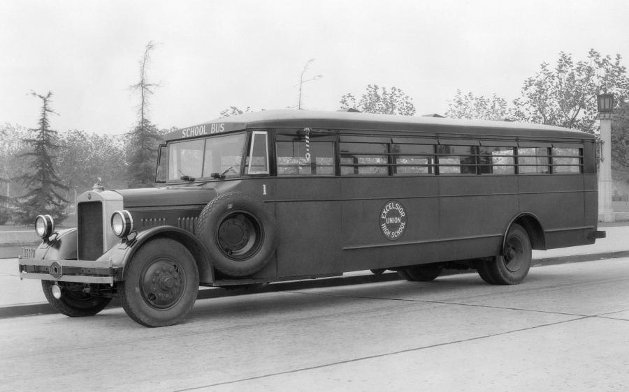 ACF School Bus by Crown Motor Carriage Co. '1932
