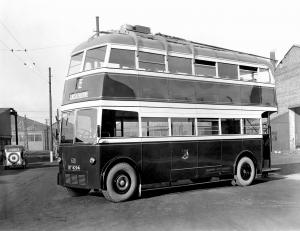AEC 661T English Electric 1934 года (UK)