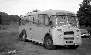 AEC Regal III 9621A Whitson 1950 года