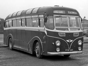 1953 AEC Regal IV 9822S Harrington Tail Fin