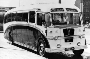 AEC Regal WSY (0662) Yeates 1953 года