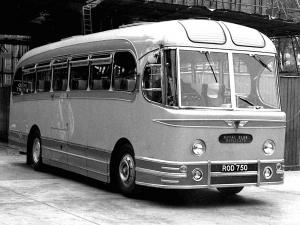 AEC Reliance MU3RV Weymann (C37F) (UK) '1955