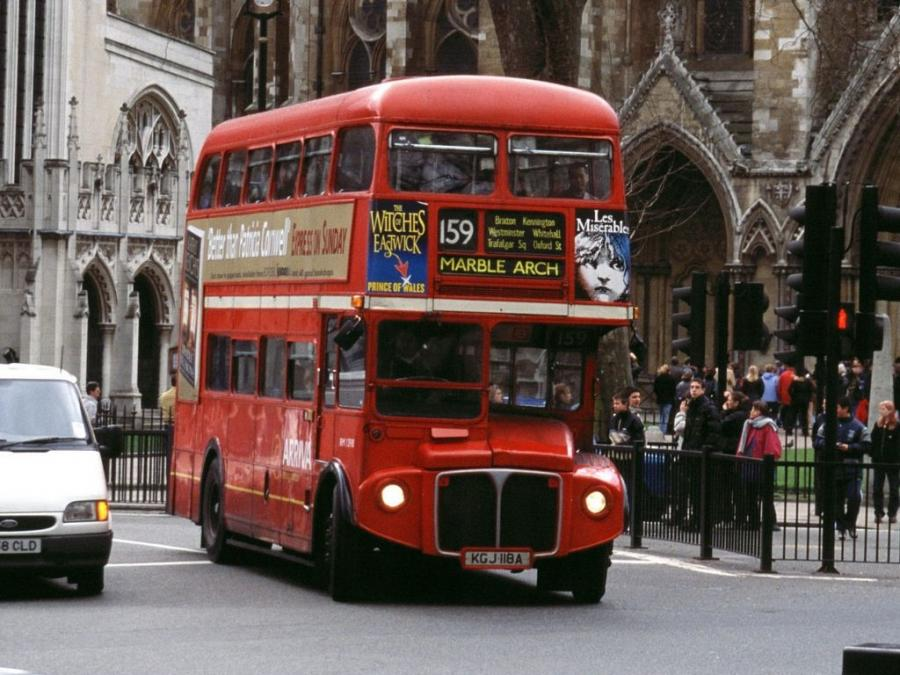 AEC Routemaster RM Park Royal (H36/28R) '1956