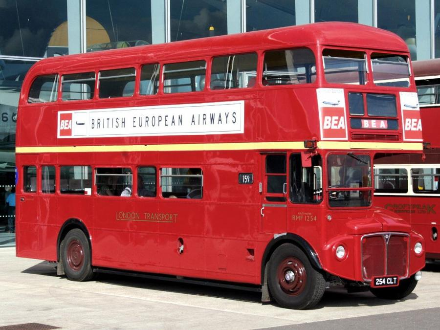 AEC Routemaster RMF Park Royal (H38/31F) '1956