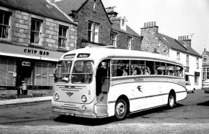 1957 AEC Reliance MU3RV Burlingham Seagull