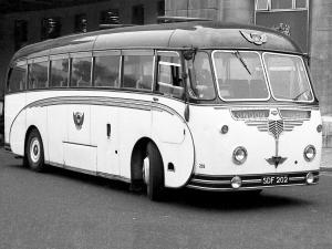 AEC Reliance MU3RV Willowbrook (C37C) (UK) '1957