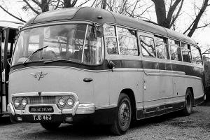 1961 AEC Reliance 2MU3RV Duple Britannia