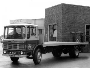 AEC Mercury Flatbed Lorry 1964 года