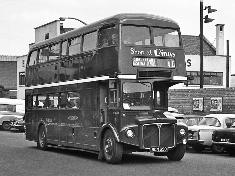 AEC Routemaster Park Royal (H39/30F) '1964