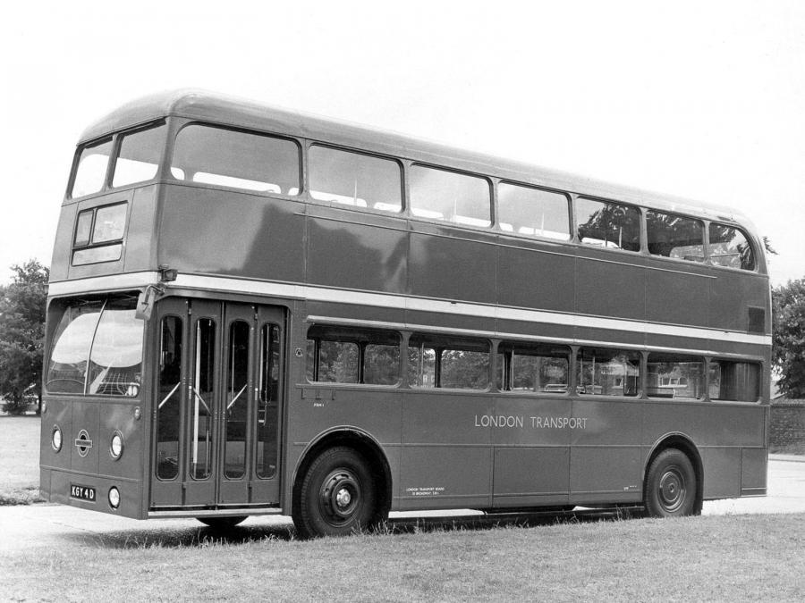 AEC Routemaster FRM1 Park Royal Prototype (H41/31F) '1966
