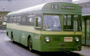 AEC Swift MP2R Strachans 1967 года (UK)