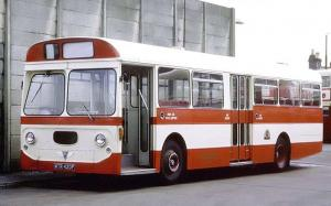 AEC Swift MP2R Strachan 1968 года (UK)