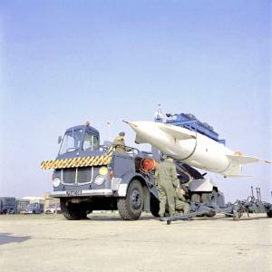 AEC Mandator MkV Blue Steel Missile Carrier 1960 года