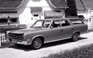 AMC Ambassador 990 Station Wagon 1967 года