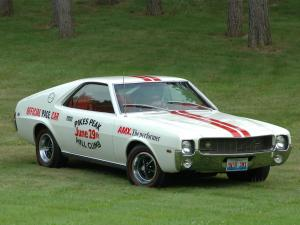 1969 AMC AMX Pikes Peak Pace Car