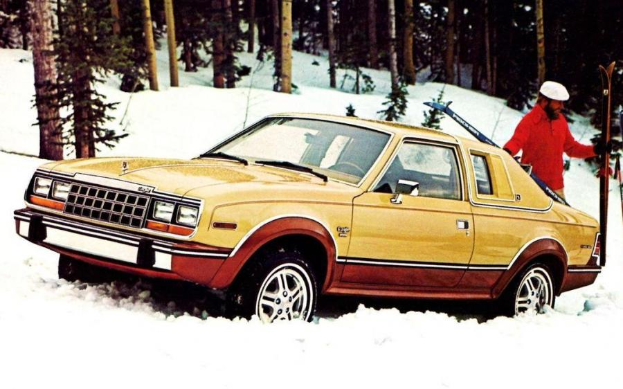 AMC Eagle Limited 2-Door Sedan '1981 - 82