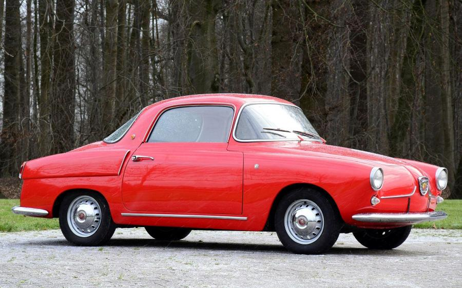 Fiat Abarth 750 Coupe by Viotti '1956