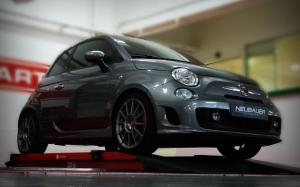Abarth 500 Speedgrey Edition by Neubauer 2009 года