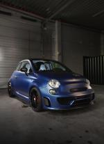 Abarth 500 Blue Wonder by Pogea Racing 2015 года