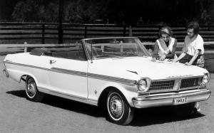 Acadian Beaumont Convertible 1963 года