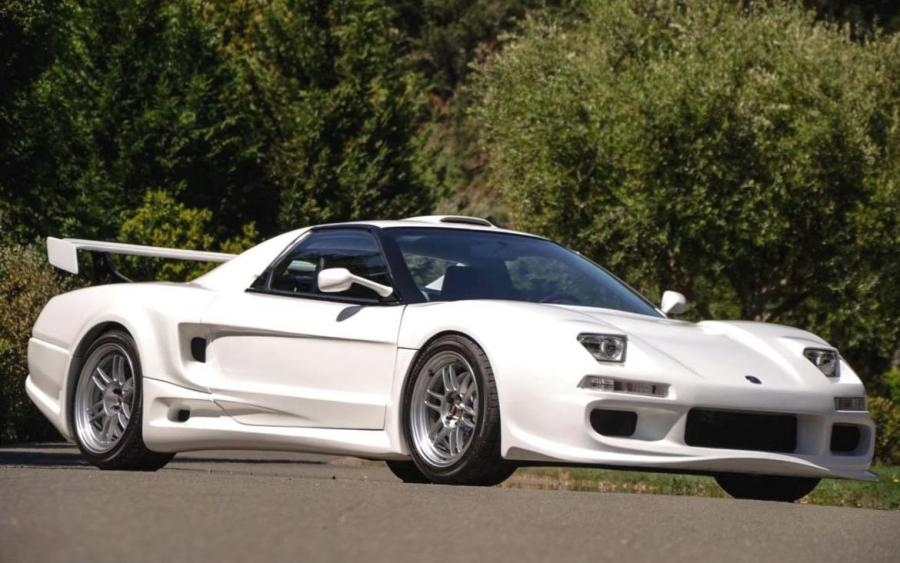 Acura NSX Supercharged BSM Widebody Kit by Endless Brakes on Enkei Wheels (RPF1) '1991