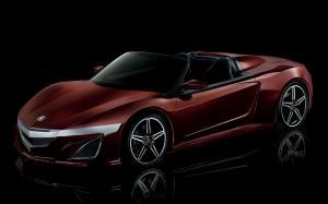 Acura NSX Roadster Concept 2012 года