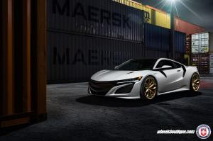 Acura NSX on HRE Wheels (P201) 2016 года