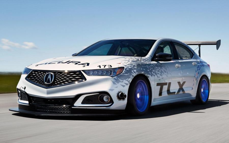 Acura TLX A-Spec Race Car '2017