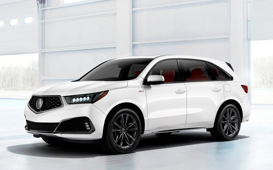 Acura MDX A-Spec (YD3) '2018