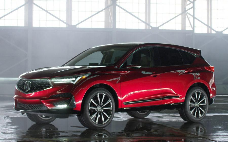Acura RDX Prototype '2018