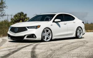 Acura TLX A-Spec on Vossen Wheels (VFS-5)