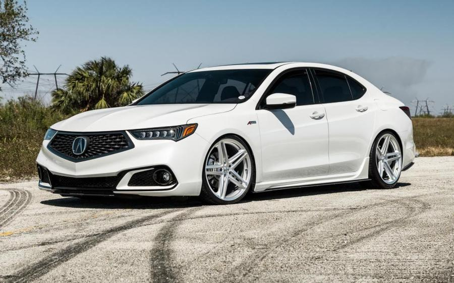 Acura TLX A-Spec on Vossen Wheels (VFS-5) '2018