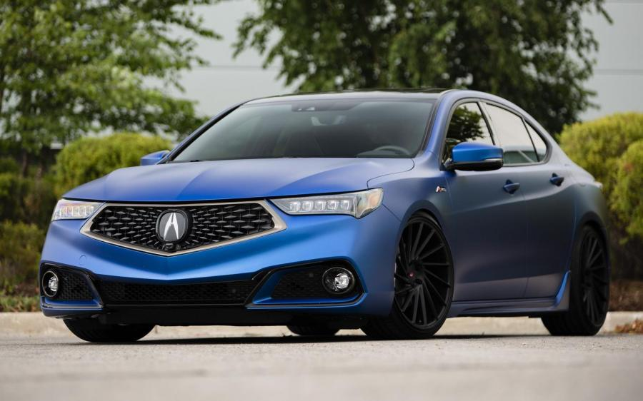 Acura TLX A-Spec on Vossen Wheels (VPS-305T) '2018