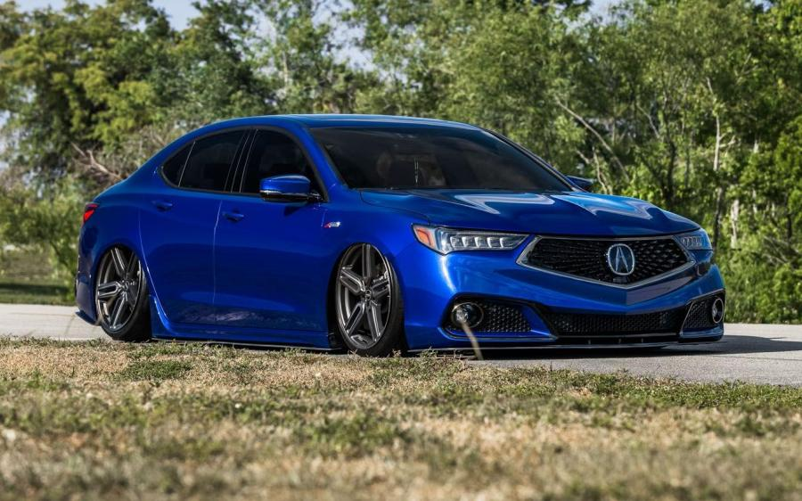Acura TLX on Vossen Wheels (HF-1) '2018