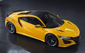 2019 Acura NSX Spa Yellow