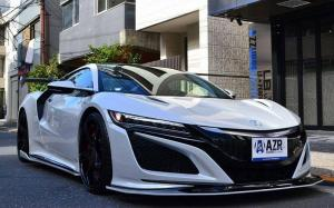 Acura NSX by Azzure Motoring on Forgiato Wheels (Copiato-ECX) 2019 года