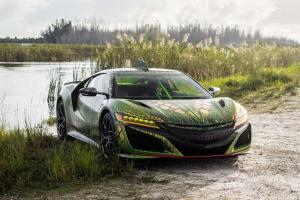 Acura NSX by MetroWrapz 2019 года