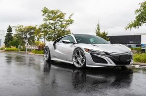 2019 Acura NSX by Pfaff Tuning on ADV.1 Wheels (ADV05C M.V2 CS)