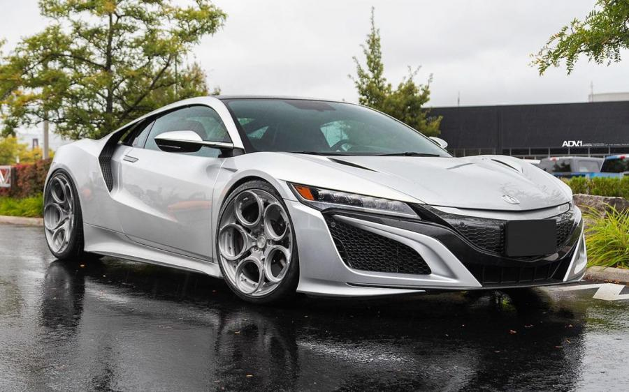 Acura NSX by Pfaff Tuning on ADV.1 Wheels (ADV05C M.V2 CS) '2019
