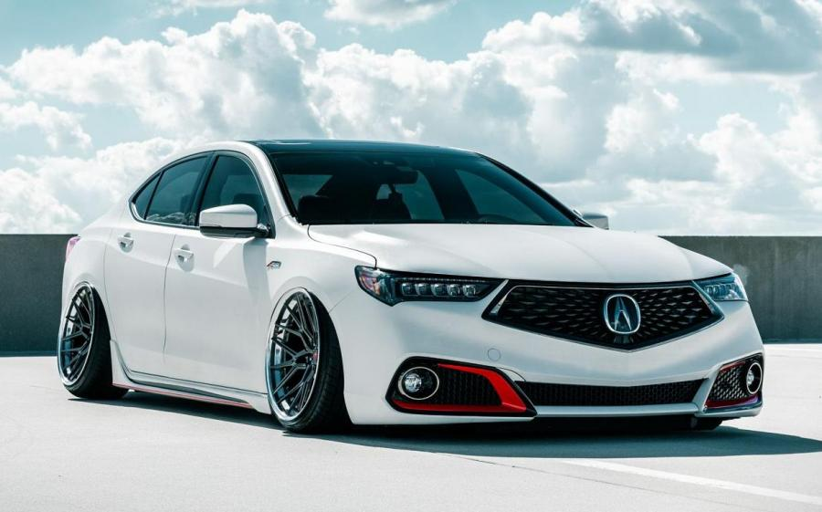 Acura TLX A-Spec on Vossen Wheels (M-X3 (3-Piece)) '2019