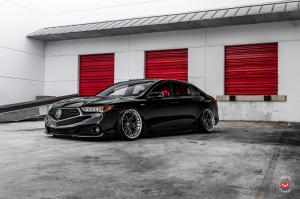 2019 Acura TLX A-Spec on Vossen Wheels (M-X3 (3-Piece))