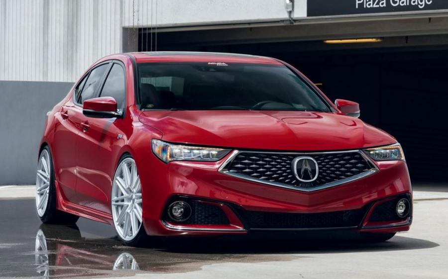 Acura TLX A-Spec on Vossen Wheels (CV10) '2019