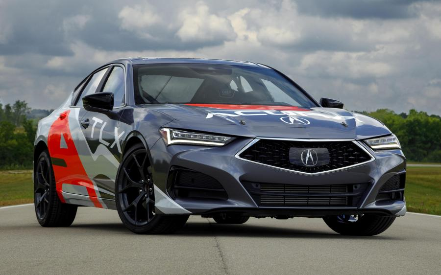 Acura TLX Type S Time Attack Pikes Peak '2020