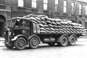 1938 Albion CX7N Flatbed Lorry