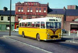 Albion Aberdonian MR11L Willowbrook 1958 года