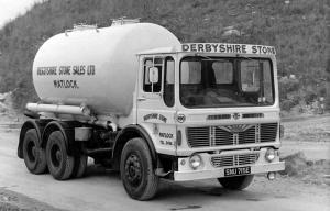 1966 Albion Super Reiver 20 RE33 6x4 Tanker