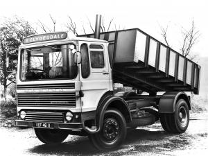 1970 Albion Clydesdale CD40 4x2 Tipper